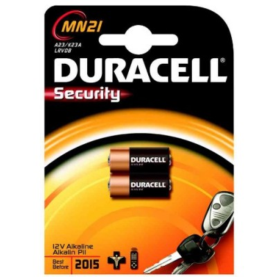 Duracell security 12v 2 stuks (MN21)