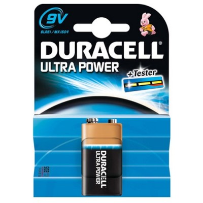 DURACELL alkaline Ultra Power Blok 9V