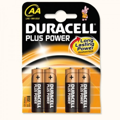 DURACELL ALKALINE  Plus Power PENLITE 1.5V AA