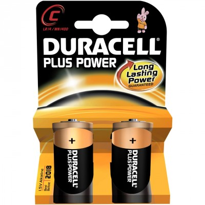 DURACELL alkaline Plus Power C 1,5V
