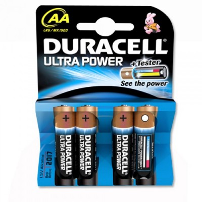 DURACELL alkaline ULTRA POWER M3 AA
