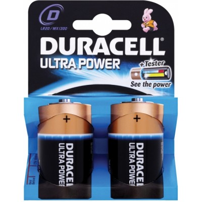 DURACELL Ultra Power D 1,5V