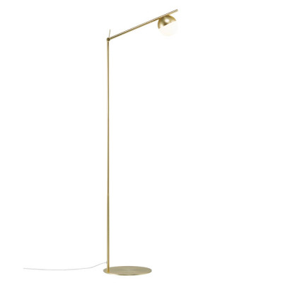 Nordlux Contina vloerlamp - messing
