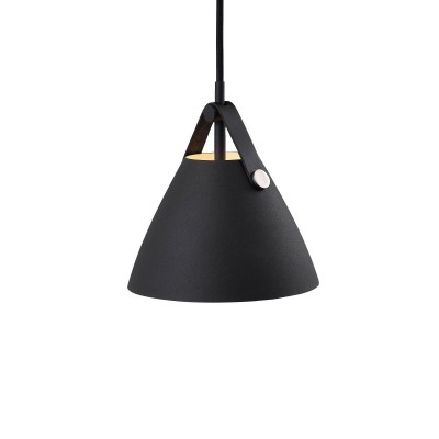 Design For The People by Nordlux Strap 16 hanglamp zwart