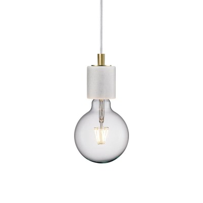 Nordlux hanglamp wit marmer