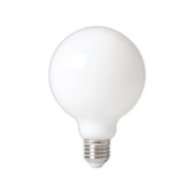 Calex led globe opaal 95mm E27 6W warm wit dimbaar