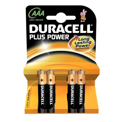 DURACELL alkaline Plus Power SLIM-PENLITE 1,5V AAA