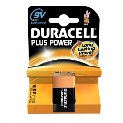 DURACELL alkaline Plus Power Blok 9V