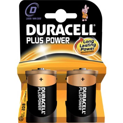 DURACELL alkaline Plus Power D 1,5V