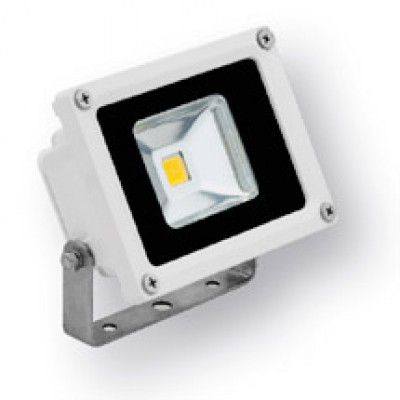 LED floodlight / bouwlamp 10W warmwit