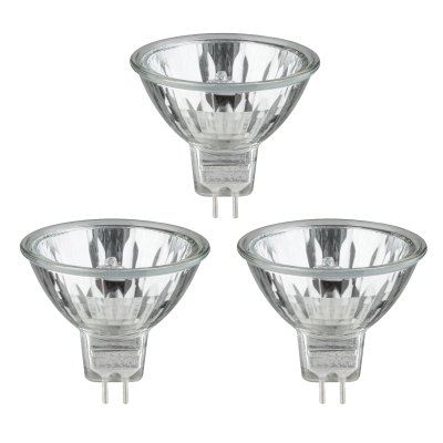 35W Halogeenspot 12V MR16 GU5.3 (3-pack)