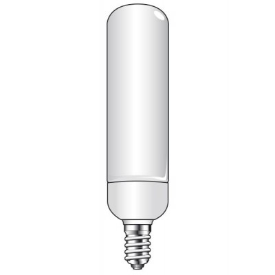 Calex ultrasmalle T22 spaarlamp buis 7W E14