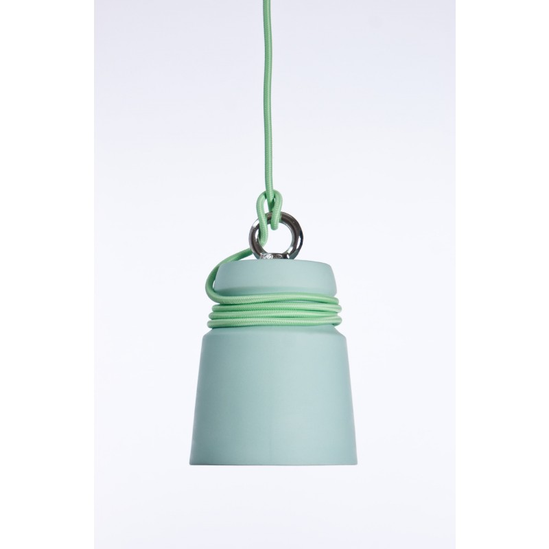 Cable Light Pastel Groen Mint