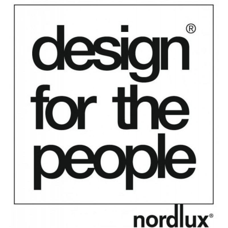 Design For The People by Nordlux  hanglamp notenhout en glas