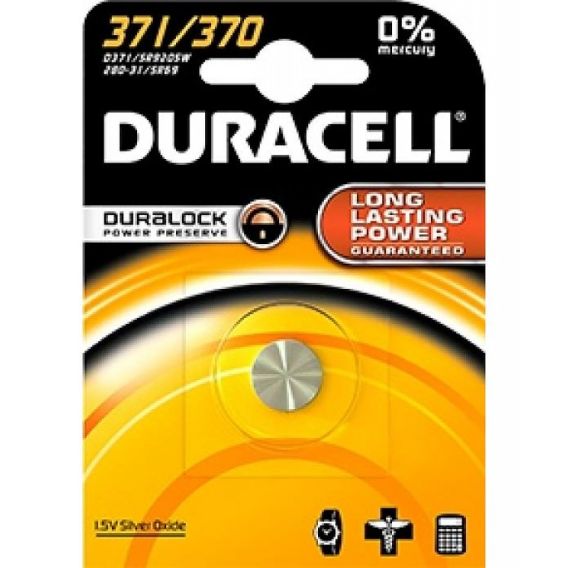 370 / 371 knoopcel duracell
