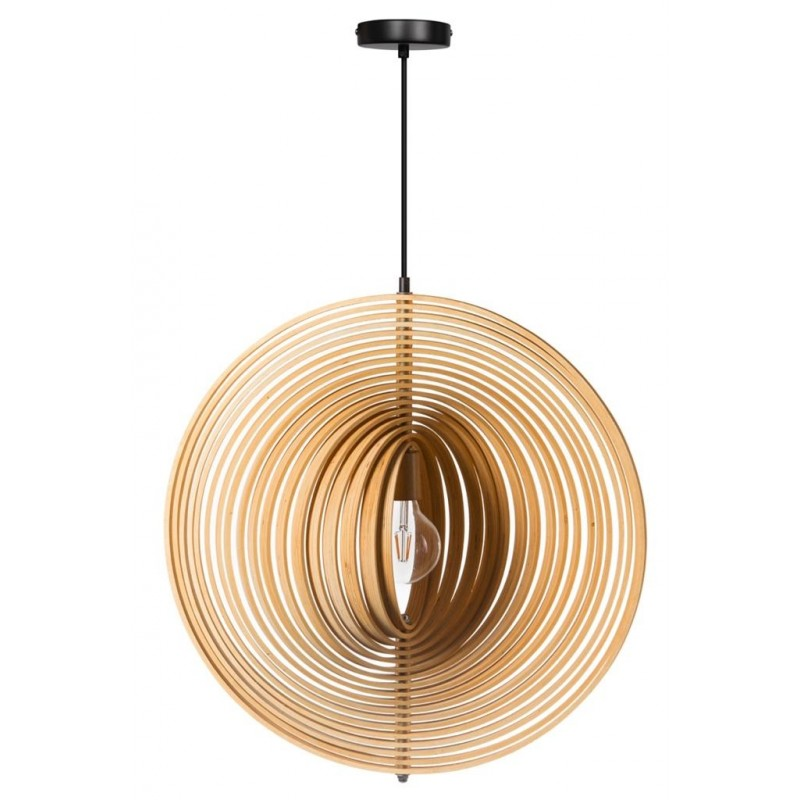 "Hanglamp ""Woody"" hout"