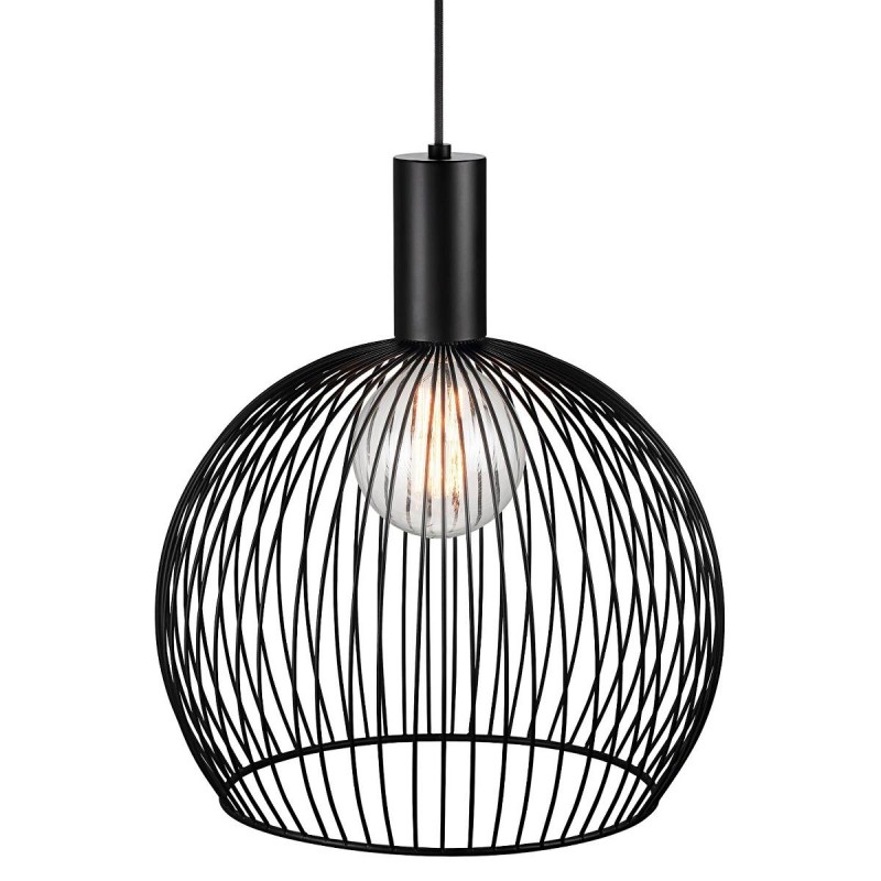 Aver 40 hanglamp metaal zwart - Design For The People by Nordlux