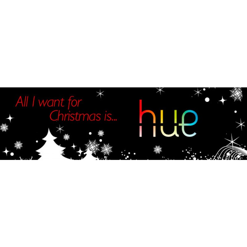 philips hue lux christmas kerst