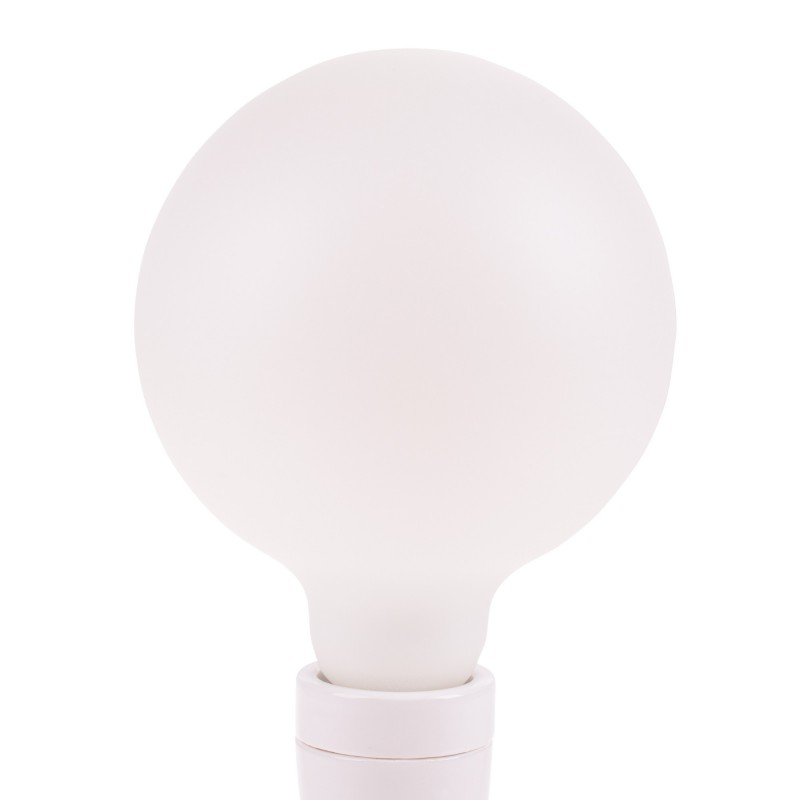Snoerboer dimbare led lamp globe 125mm E27