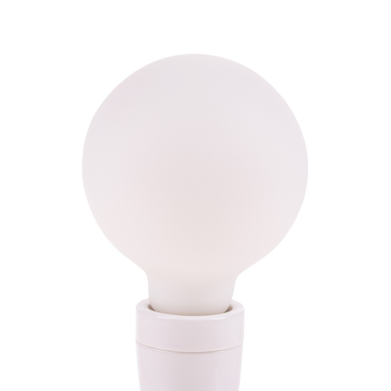 Snoerboer dimbare led lamp globe 95mm E27