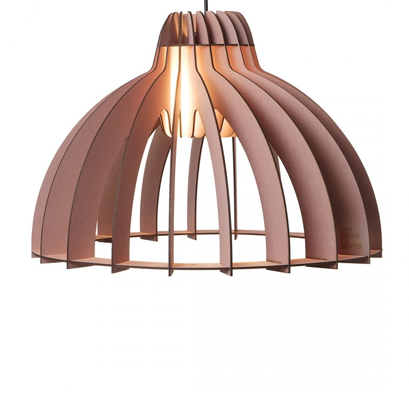Granny Smith houten hanglamp Aged Pink